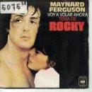 Discos de vinilo: BSO-ROCKY - GONNA FLY NOW / THE FLY (MAYNARD FERGUSON) (SINGLE ESPAÑOL, CBS 1977). Lote 164076158
