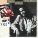 Discos de vinilo: BSO-ROCKY IV - ROBERT TEPPER - NO EASY WAY OUT (SINGLE PROMO ESPAÑOL, SCOTTI BROTHERS 1986). Lote 164076774