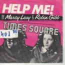 Discos de vinilo: BSO-TIMES SQUARE - MARCY LEVY AND ROBIN GIBB - HELP ME (SINGLE ESPAÑOL, RSO RECORDS 1980). Lote 164085374