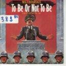 Discos de vinilo: BSO-TO BE OR NOT TO BE - THE HITLER RAP, PARTES 1 Y 2 (MEL BROOKS)(SINGLE PROMO ESPAÑOL, ARIOLA 1984. Lote 164085890
