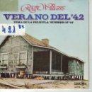 Discos de vinilo: BSO-VERANO DEL 42 - ROGER WILLIAMS - THE SUMMER KNOWS / YOUR SONG . Lote 164087514