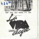 Discos de vinilo: BSO-LA VIDA ALEGRE - SUBURBANO (SINGLE PROMO ESPAÑOL, DISCOS DIAL 1987). Lote 164088346