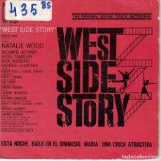 Discos de vinilo: BSO-WEST SIDE STORY (ORQUESTA DE JOHNNY GREEN) (EP ESPAÑOL, CBS 1962). Lote 164090438