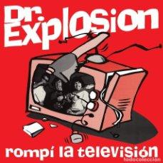 Discos de vinilo: SINGLE DOCTOR EXPLOSION ROMPI LA TELEVISION GARAGE VINILO GIJON ASTURIAS. Lote 164110570