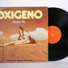 Discos de vinilo: DISCO LP DE VINILO - OXIGENO MAGIC FLY / JOHNNY DOUGLAS ORQUESTA MAGIC FANTASY - OLYMPO - AÑO 1977. Lote 164115152