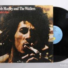 Dischi in vinile: DISCO LP DE VINILO - BOB MARLEY AND THE WAILERS / CATCH A FIRE - ISLAND - AÑO 1978. Lote 164115817