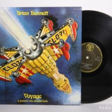 Discos de vinilo: DISCO LP DE VINILO - BRIAN BENNETT / VOYAGE - DJM RECORDS - 1978 - PORTADA ABIERTA. Lote 164117388