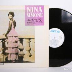 Discos de vinilo: DISCO LP DE VINILO - NINA SIMONE / MY BABY JUST CARES FOR MY - GRIND - AÑO 1988. Lote 164122468