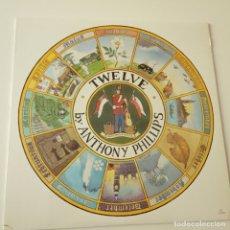Discos de vinilo: ANTHONY PHILLIPS PRIVATE PARTS AND PIECES V-TWELVE - USA LP 1984 - GENESIS- VINILO COMO NUEVO.. Lote 164130538