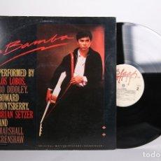 Discos de vinilo: DISCO LP DE VINILO - LA BAMBA / LOS LOBOS, HOWARD HUNTSBERRY - SLASH - 1987 USA. Lote 164136710