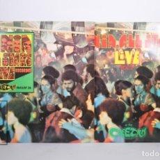 Discos de vinilo: 2 DISCOS LP DE VINILO - FANIA ALL STARS LIVE CHEETAH VOL. 1 Y 2 - FANIA - AÑO 1980 - FRANCIA. Lote 164140210