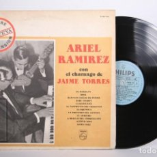 Discos de vinilo: DISCO LP DE VINILO - ARIEL RAMIREZ CON EL CHARANGO DE JAIME TORRES - PHILIPS - ARGENTINA. Lote 164142394