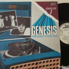 Discos de vinilo: GENESIS- FROM GENESIS TO REVELATION - SPAIN PROMO LP 1977- WHITE LABEL- COMO NUEVO.. Lote 164153518