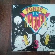 Discos de vinilo: PONTE LA MARCHA 3-DOBLE LP. Lote 164166706