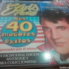 Discos de vinilo: DOBLE DISCO VINILO ELVIS PRESLEY. Lote 164180728