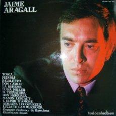 Discos de vinilo: JAUME ARAGALL. ARIAS DE ÓPERA.. Lote 204762615