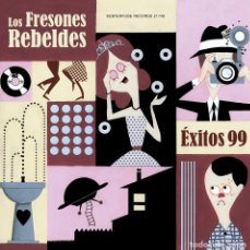 Discos de vinilo: LP LOS FRESONES REBELDES EXITOS 99 VINILO INDIE POP SPAIN. Lote 164188162