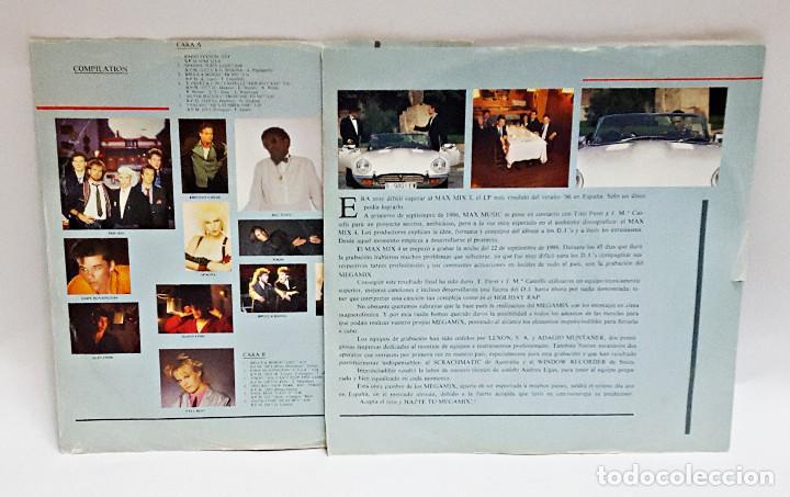 Discos de vinilo: Disco de vinilo LP DOBLE de MAX MIX 4. - Foto 4 - 164215902
