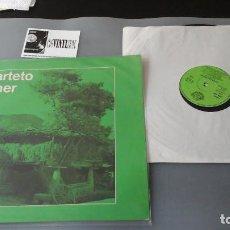Discos de vinilo: CUARTETO TORNER - LP MÚSICA TONADA ASTURIANA - SOCIEDAD FONOGRÁFICA ASTURIANA. Lote 164245058