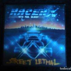 Discos de vinilo: RACER X STREET LETHAL DE 1986 - COMO NUEVO. Lote 164259530