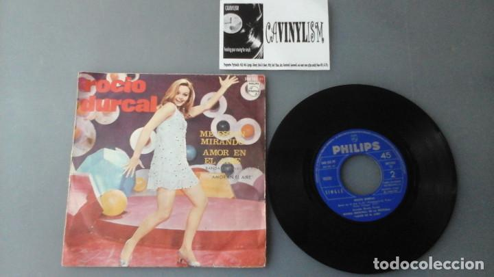 Discos de vinilo: Rocío Dúrcal ?– Me Estan Mirando Label: Philips ?– 360 132 PF Single 1967 Raro - Foto 1 - 164262486