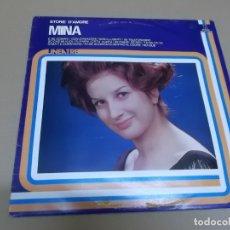Discos de vinilo: MINA (LP) STORIE D'AMORE AÑO 1982 – EDICION ITALIA. Lote 109199803