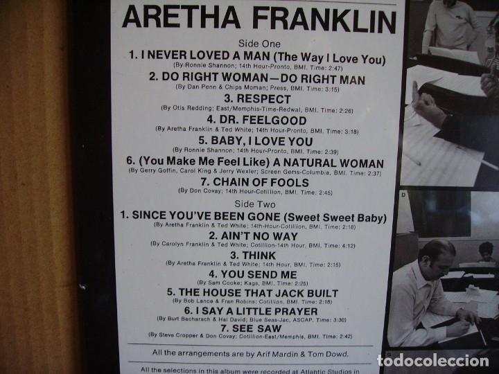 Discos de vinilo: ARETHA FRANKLIN ---- GOLD - NUEVO - Foto 2 - 163619322