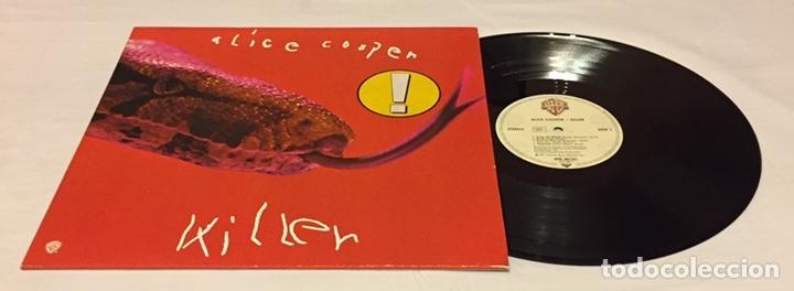 ALICE COOPER - KILLER LP, REEDICIÓN, EUROPA (Música - Discos - LP Vinilo - Pop - Rock - Extranjero de los 70)
