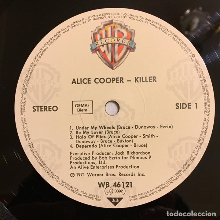 Discos de vinilo: ALICE COOPER - KILLER LP, REEDICIÓN, EUROPA - Foto 5 - 164378146