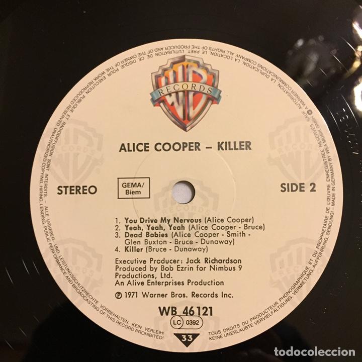 Discos de vinilo: ALICE COOPER - KILLER LP, REEDICIÓN, EUROPA - Foto 6 - 164378146