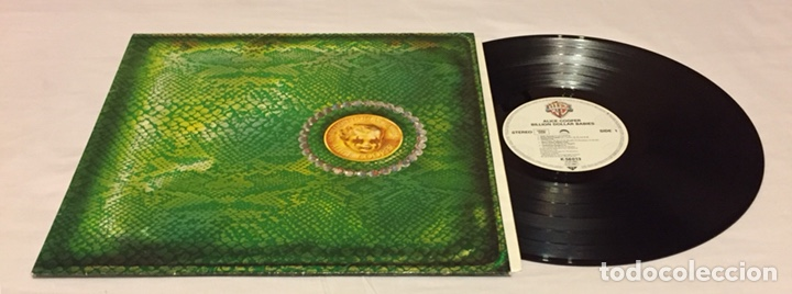 ALICE COOPER - BILLION DOLLAR BABIES LP, REEDICIÓN, EUROPA (Música - Discos - LP Vinilo - Pop - Rock - Extranjero de los 70)