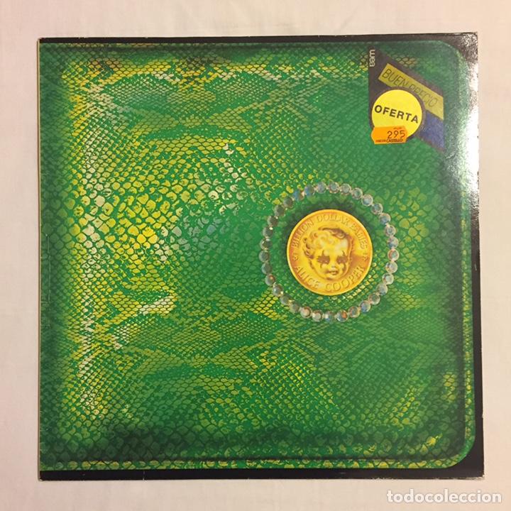 Discos de vinilo: ALICE COOPER - BILLION DOLLAR BABIES LP, REEDICIÓN, 1983, ESPAÑA - Foto 2 - 164378270