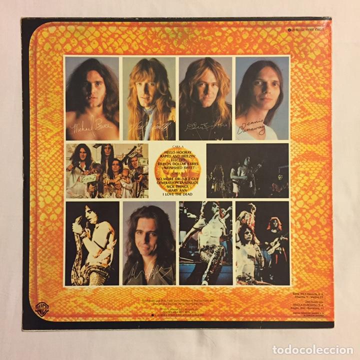 Discos de vinilo: ALICE COOPER - BILLION DOLLAR BABIES LP, REEDICIÓN, 1983, ESPAÑA - Foto 3 - 164378270