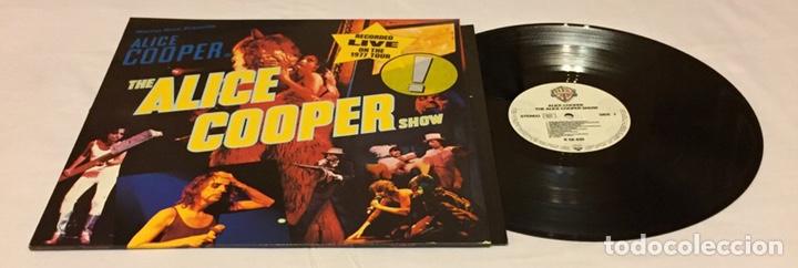 ALICE COOPER - THE ALICE COOPER SHOW, REEDICIÓN, EUROPA (Música - Discos - LP Vinilo - Pop - Rock - Extranjero de los 70)