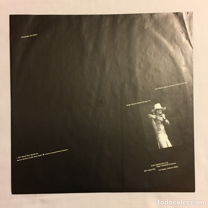 Discos de vinilo: ALICE COOPER - THE ALICE COOPER SHOW, REEDICIÓN, EUROPA - Foto 5 - 164378326