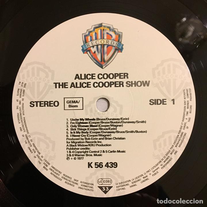 Discos de vinilo: ALICE COOPER - THE ALICE COOPER SHOW, REEDICIÓN, EUROPA - Foto 7 - 164378326