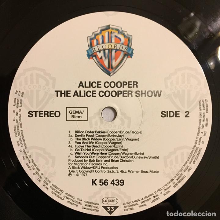 Discos de vinilo: ALICE COOPER - THE ALICE COOPER SHOW, REEDICIÓN, EUROPA - Foto 8 - 164378326