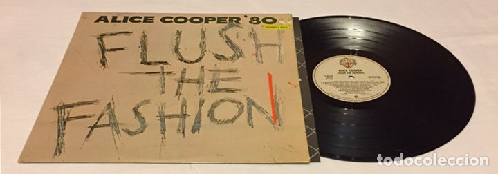 ALICE COOPER - FLUSH THE FASHION LP, 1980, ESPAÑA (Música - Discos - LP Vinilo - Heavy - Metal)