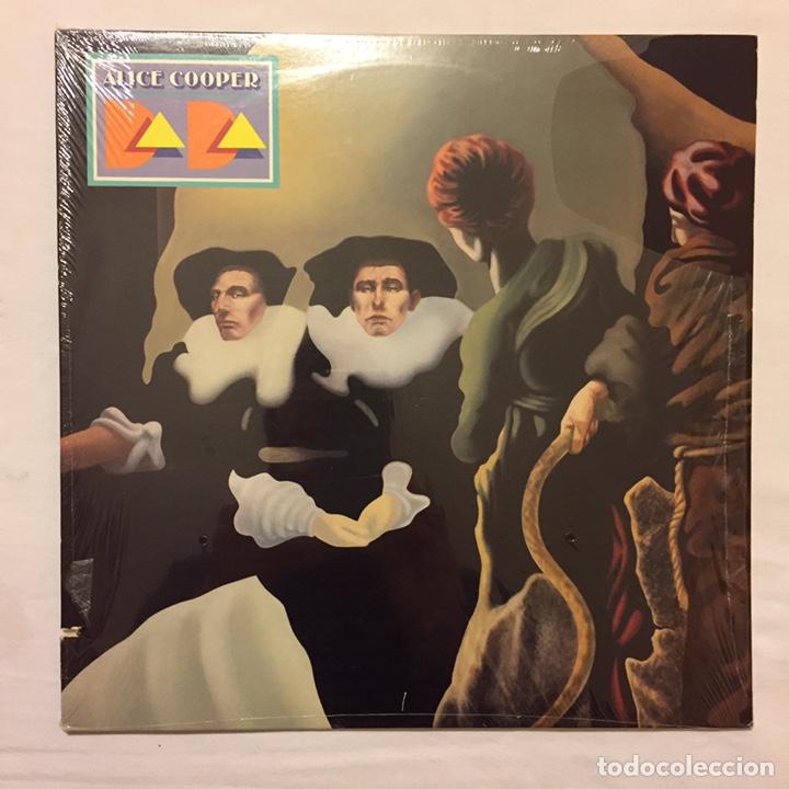 Discos de vinilo: ALICE COOPER - DADA LP, 1983, USA, PRIMERA EDICIÓN, OPORTUNIDAD!!! - Foto 2 - 164378506
