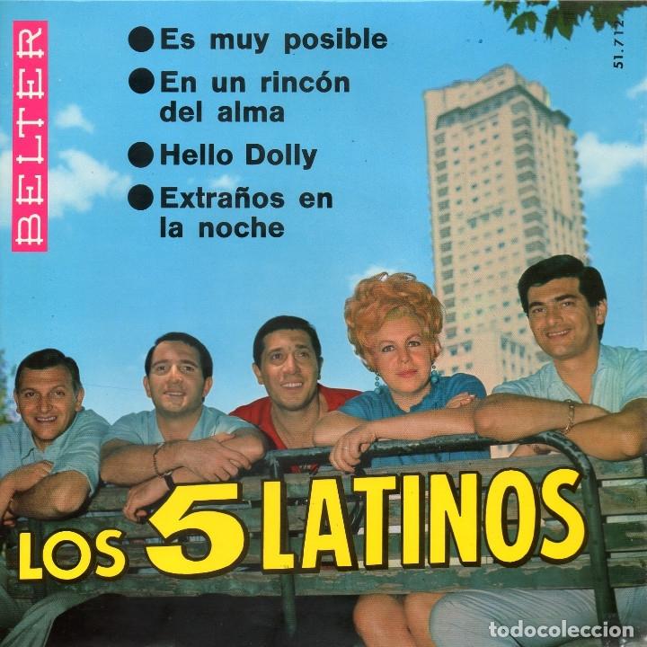 LOS CINCO LATINOS 1966 BELTER 51.712 (Música - Discos de Vinilo - EPs - Grupos y Solistas de latinoamérica)