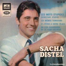 Discos de vinilo: SACHA DISTEL 1967 LA VOIX DE SON MAÎTRE EGF 962 FRANCIA. Lote 3866194