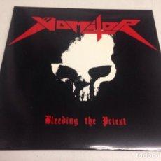 Discos de vinilo - Vomitor – Bleeding The Priest --thrash black edicion 2010 - 164496682