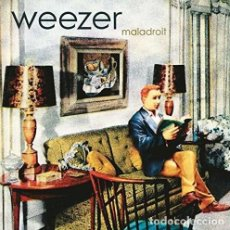 Discos de vinilo: LP WEEZER MALADROIT VINILO 180G + MP3 DOWNLOAD INDIE ROCK. Lote 164587134