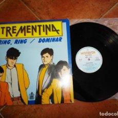 Discos de vinilo: TREMENTINA RING RING / DOMINAR MAXI SINGLE VINILO 1983 PRODUCIDO JOSE MARIA CANO MECANO MOVIDA RARO. Lote 164589698