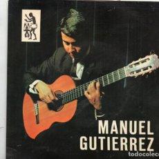 Discos de vinilo: EP DEL SELLO TAM TAM DEL MÚSICO CANARIO - MANUEL GUTIERREZ. Lote 164590778