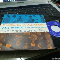 Discos de vinilo: THE PRESIDENTS SINGLE AVE MARIA ESPAÑA 1969. Lote 164594468