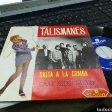 Discos de vinilo: LOS TALISMANES SINGLE SALTA A LA COMBA 1967. Lote 164598445
