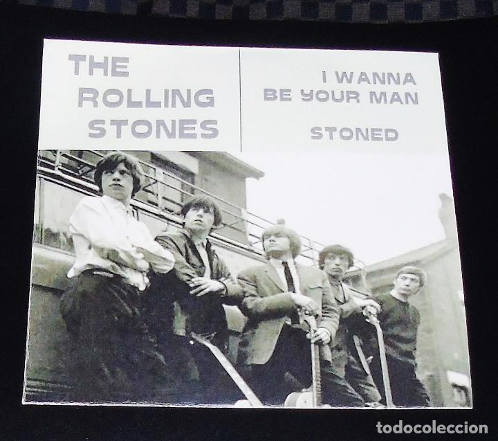 THE ROLLING STONES – --I WANNA BE YOUR MAN-- SU SEGUNDA GRABACION –U K   1963 ----( VER DESCRIPCION )