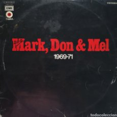 Discos de vinilo: GRAND FUNK RAILROAD - MARK, DON & MEL - VINILO LP. Lote 164613760