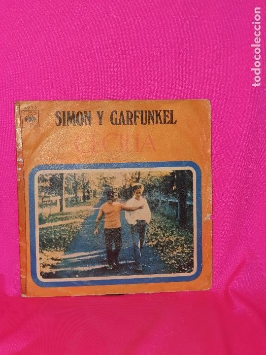 SIMON Y GARFUNKEL - CECILIA, EL UNICO MUCHACHO QUE VIVE EN NEW YORK, CBS, 1970. (Música - Discos - Singles Vinilo - Pop - Rock - Extranjero de los 70)